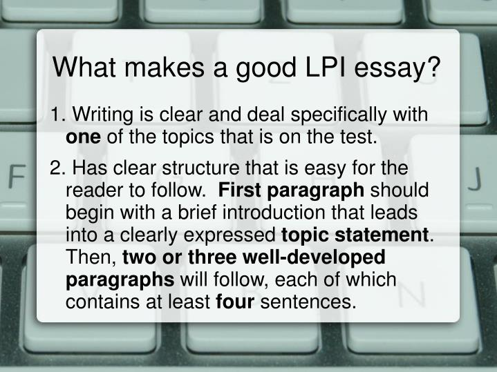 what makes a good college essay Learn how to write a good essay for academic courses, college admissions or scholarship applications.