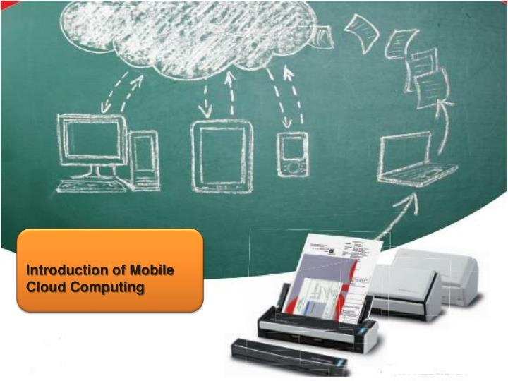 mobile cloud computing n.