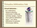 virtualios bibliotekos link