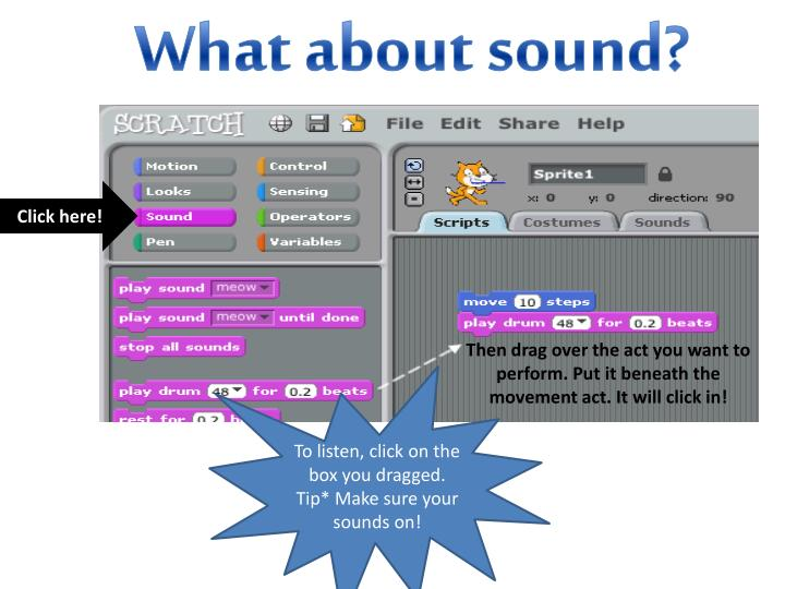 What about sound?