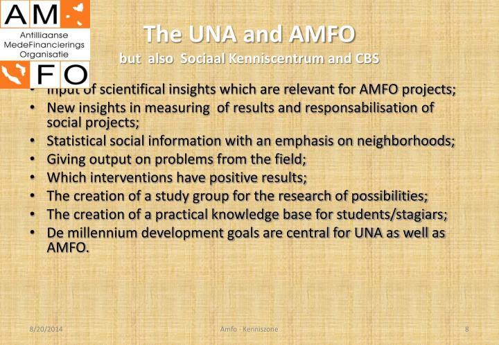 The UNA and AMFO