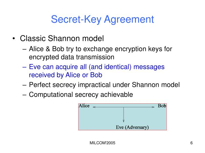 Secret-Key Agreement