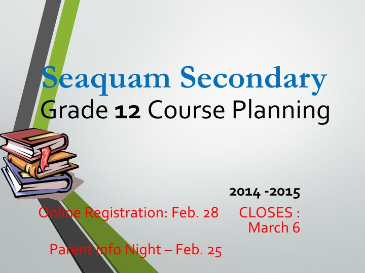 grade 12 course planning n.