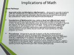 implications of math