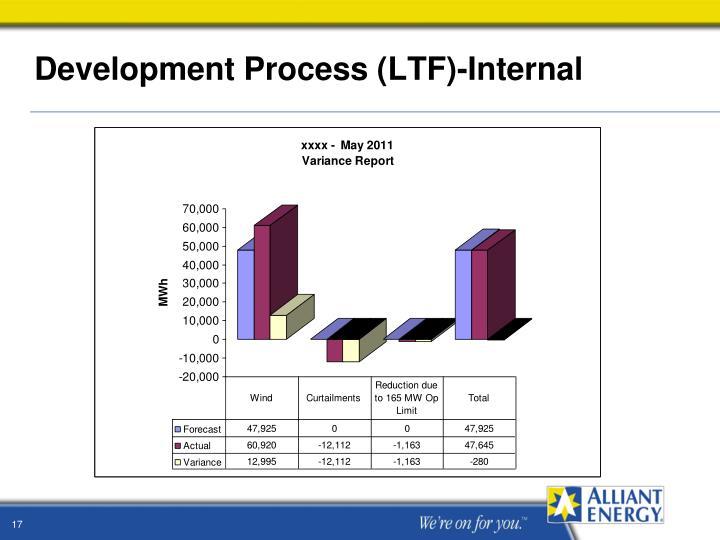 Development Process (LTF)-Internal
