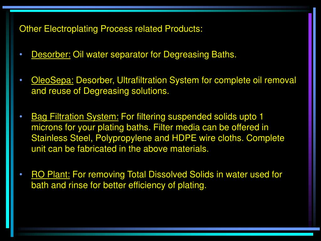 PPT - Rinse water Recovery System-METAPure for recovery and