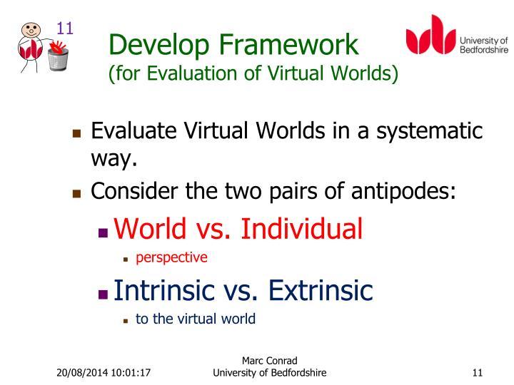 Develop Framework