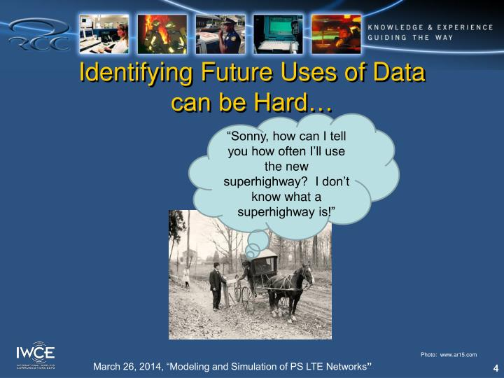 Identifying Future Uses of Data