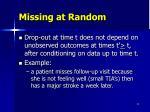 missing at random