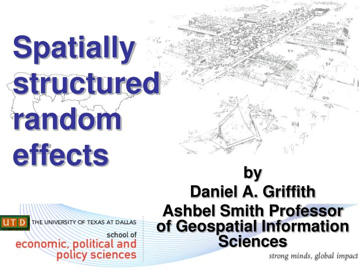 spatially structured random effects