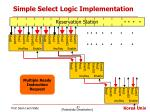 simple select logic implementation2