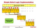 simple select logic implementation3