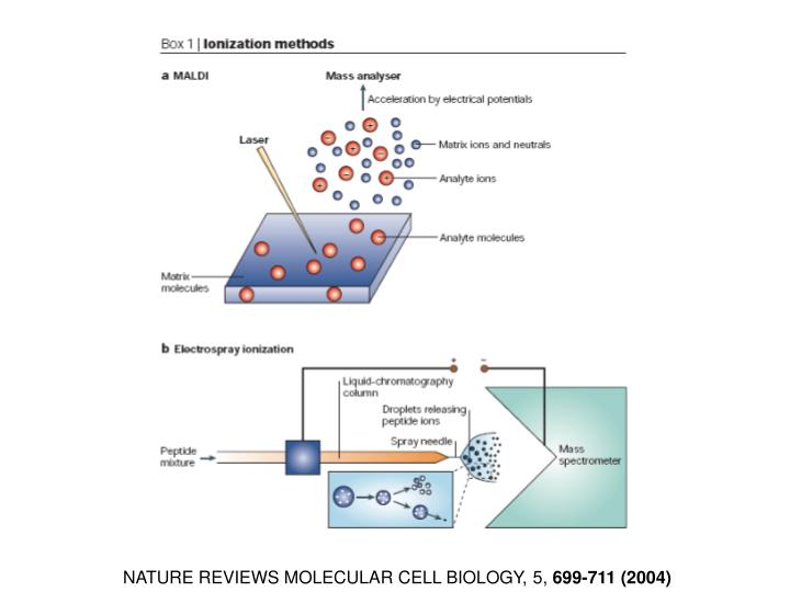 NATURE REVIEWS MOLECULAR CELL BIOLOGY, 5,