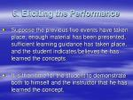 6 eliciting the performance