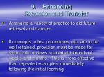 9 enhancing retention and transfer
