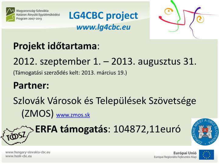 Lg4cbc project www lg4cbc eu1