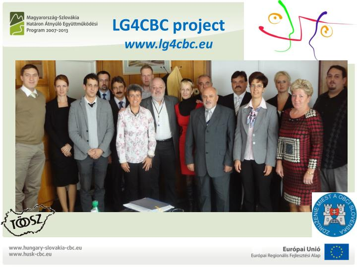 Lg4cbc project www lg4cbc eu2