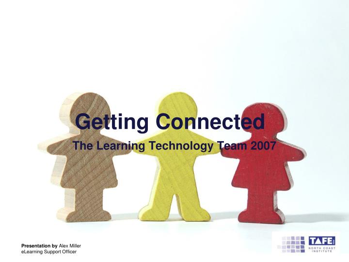 getting connected n.