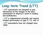 long term trend ltt