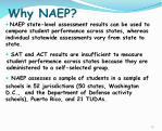 why naep
