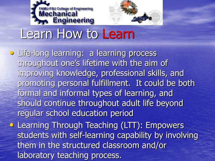 Learn How to
