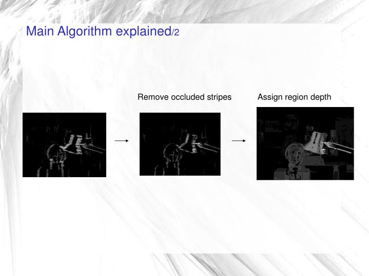 Main Algorithm explained
