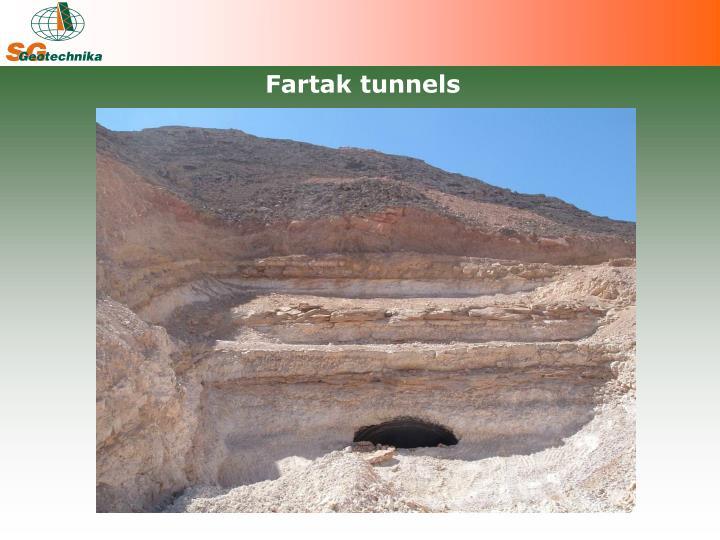Fartak tunnels
