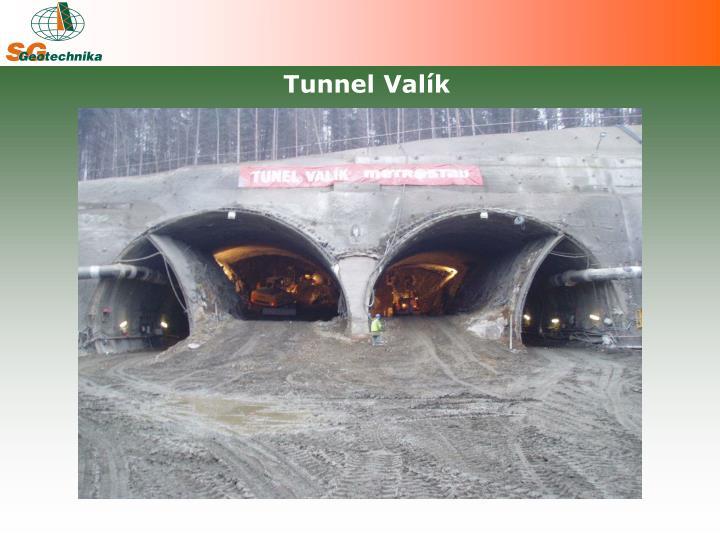 Tunnel Valík