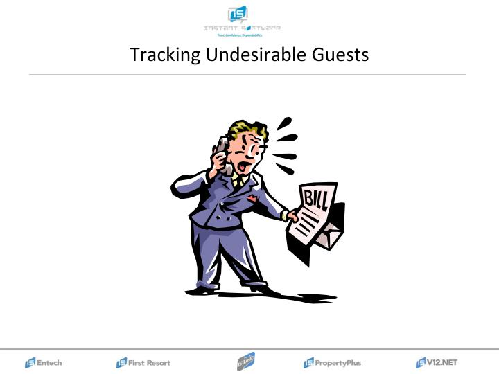 Tracking Undesirable Guests
