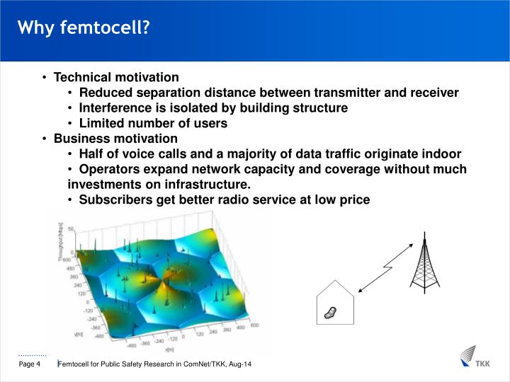 Why femtocell?