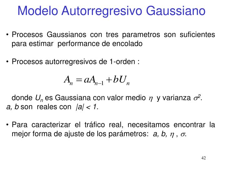 Modelo Autorregresivo Gaussiano