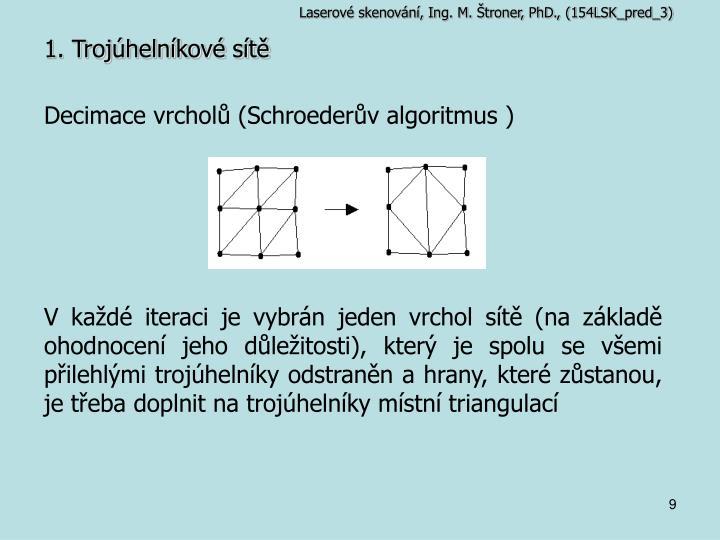 Laserové skenování, Ing. M. Štroner, PhD., (