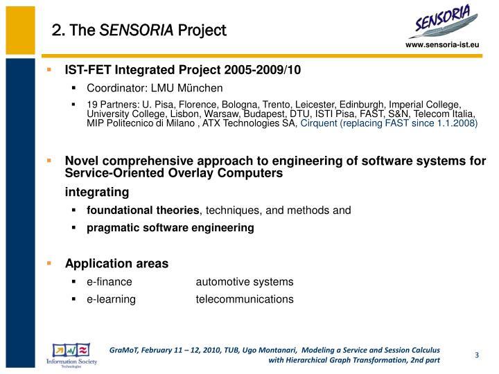 2 the sensoria project