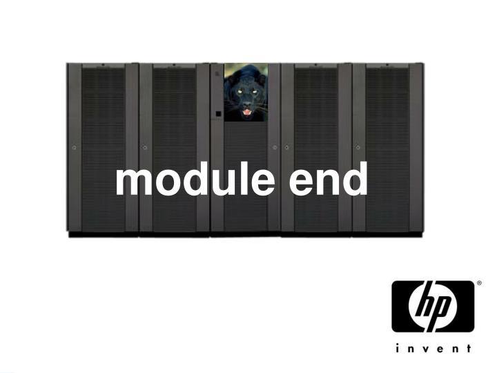 module end