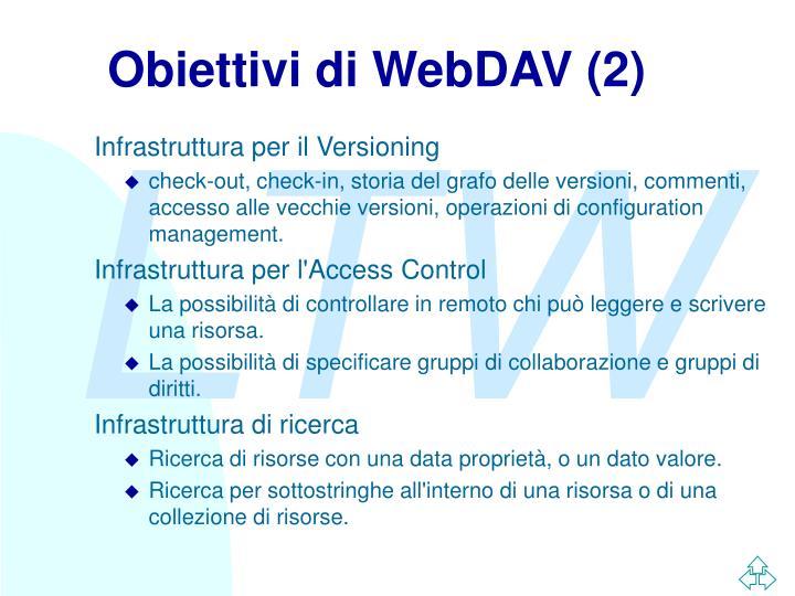 Obiettivi di WebDAV (2)