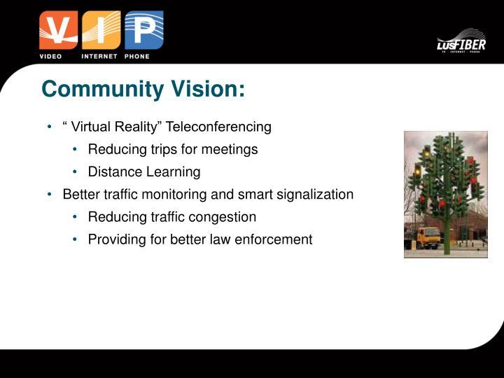 Community Vision: