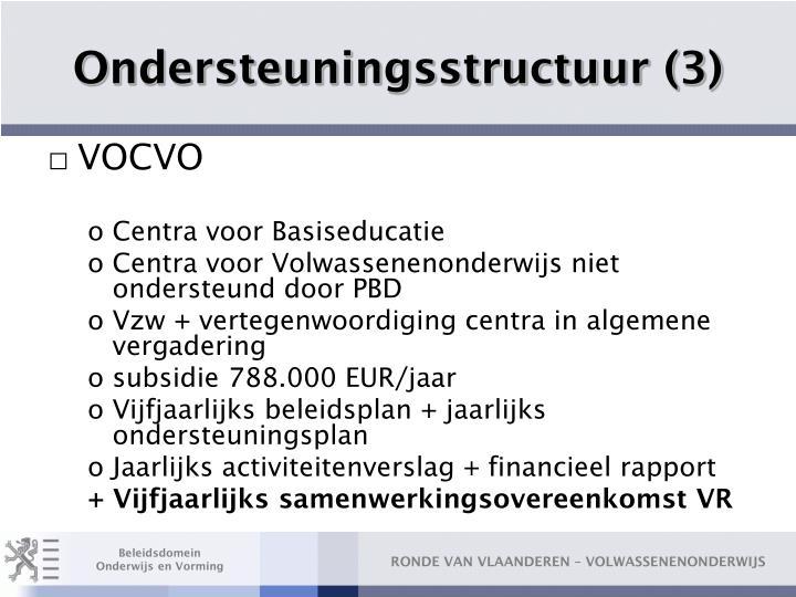 Ondersteuningsstructuur (3)
