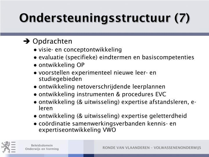 Ondersteuningsstructuur (7)