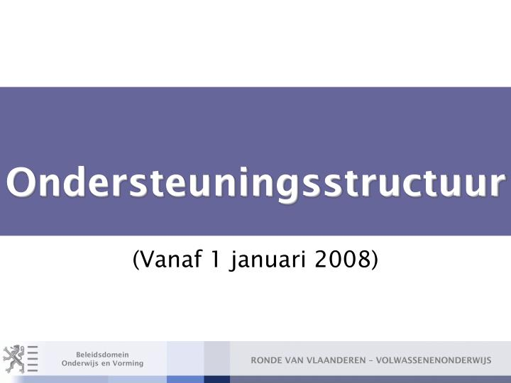 Ondersteuningsstructuur