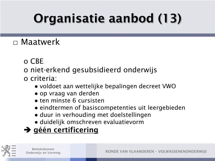 Organisatie aanbod (13)