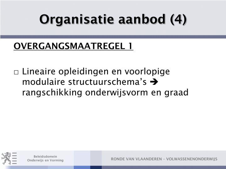 Organisatie aanbod (4)