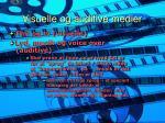 visuelle og auditive medier