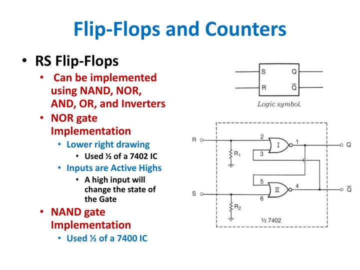 Flip-Flops and Counters