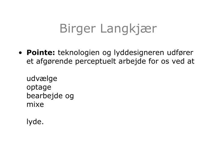 Birger Langkjær