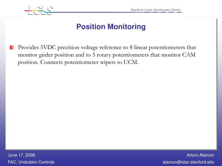Position Monitoring