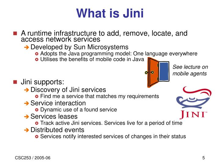 What is Jini