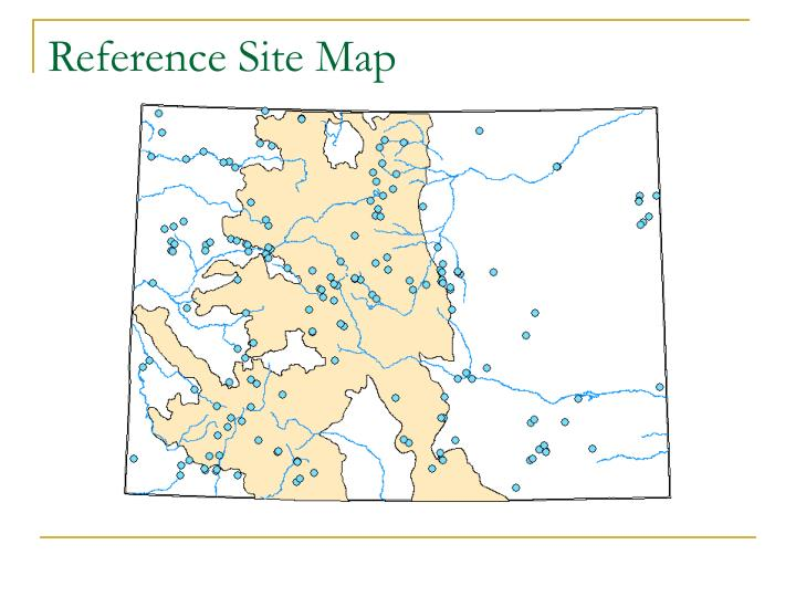 Reference Site Map