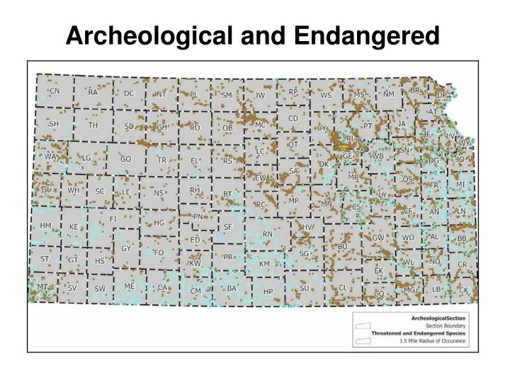 Archeological and Endangered