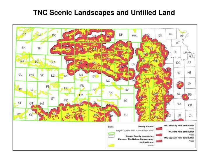 TNC Scenic Landscapes and Untilled Land