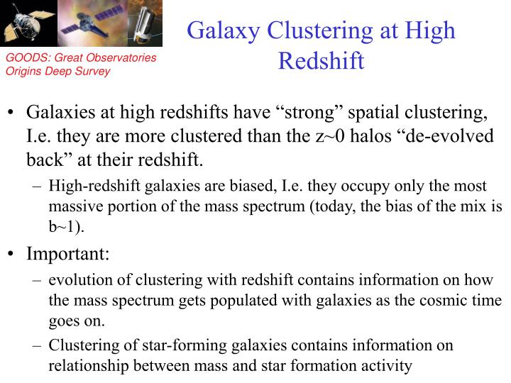 Galaxy Clustering at High Redshift